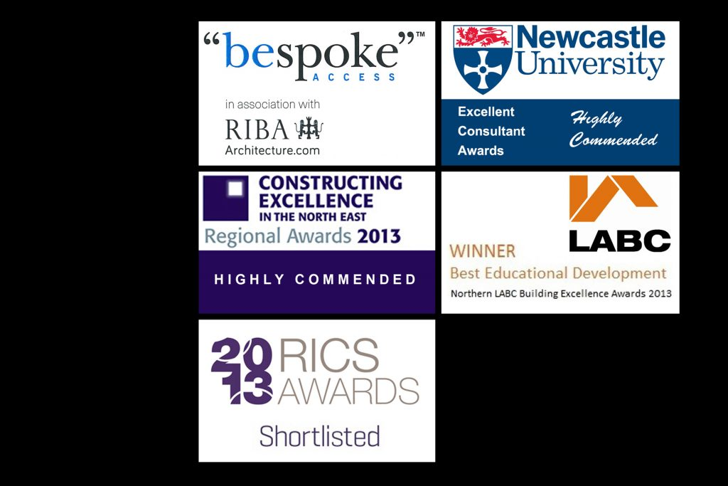 web page - awards logos